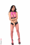 Polly Pons - Peekaboo Pink Straps - 1